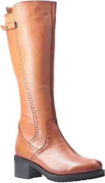 Riva Larnaca Ladies Long Boots Tan